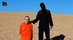 Alan Henning and the vile monster who killed him.